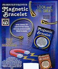 Magnetic Bracelets - Helps stimulate the central nervous system andpromote healty blood circulation.